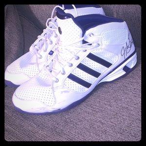 Adidas game worm autographed shoes Joe Smith